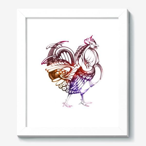 Картина «Декоративный петух»