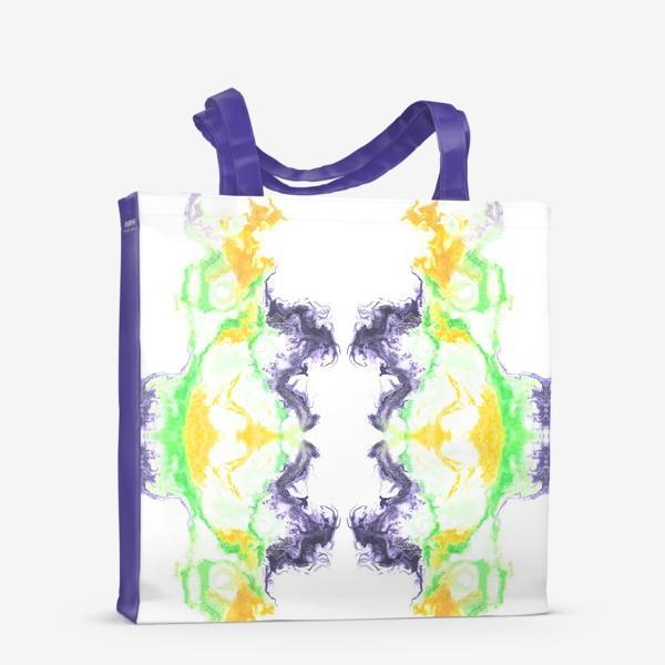 Сумка-шоппер «Цветной дым»