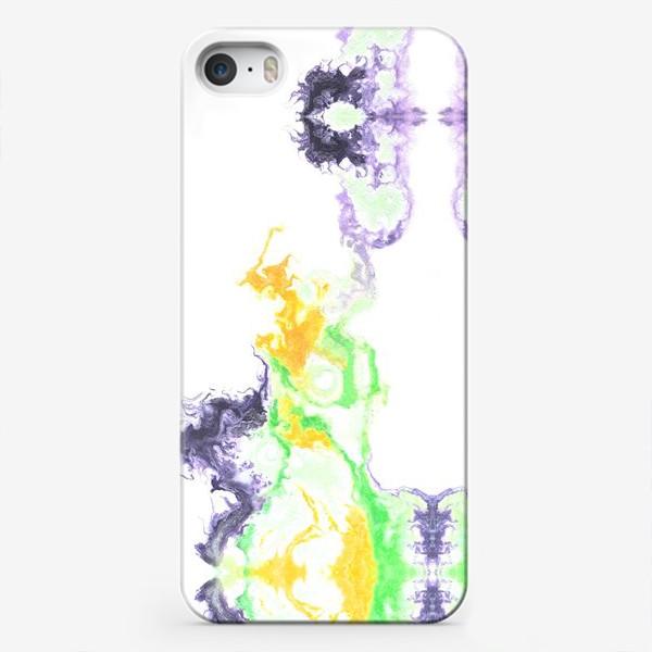 Чехол iPhone «Цветной дым»