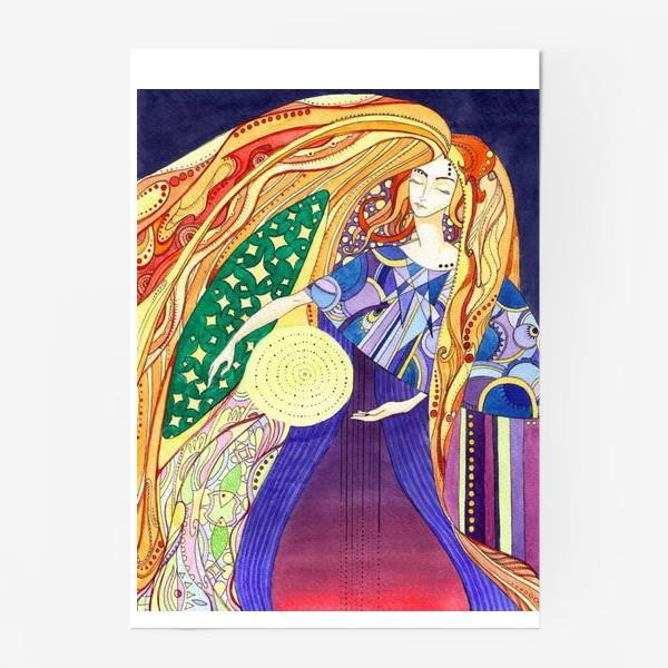 Постер «космическая дева»