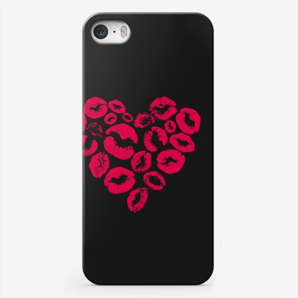 Чехол iPhone «kisses heart»