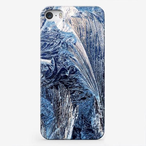 """Чехол iPhone «Сказочная ночь. Из серии """"Морозные узоры"""".»"""