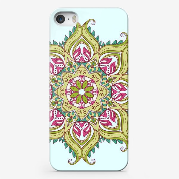 Чехол iPhone «indian mandala»