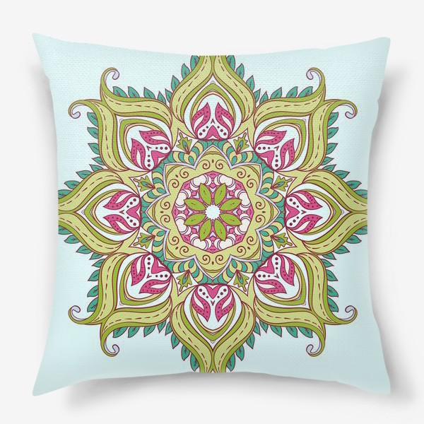 Подушка «indian mandala»