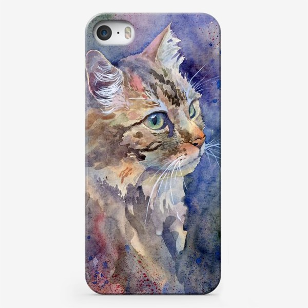 Чехол iPhone «Рыжая кошка»