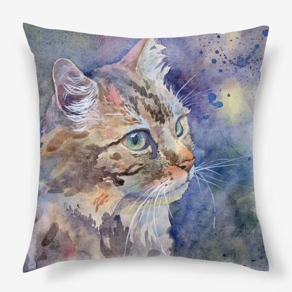 Подушка «Рыжая кошка»