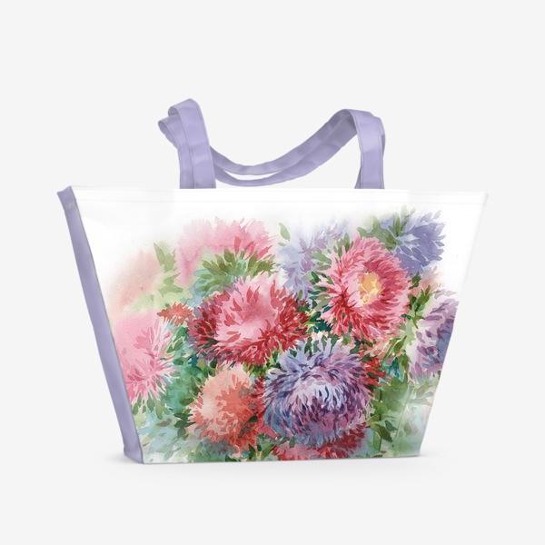 Пляжная сумка «Астры»