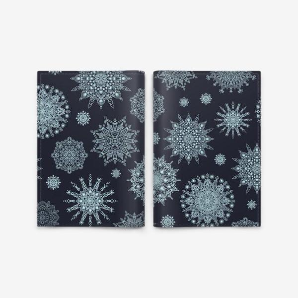 Обложка для паспорта «Снежная ночь»