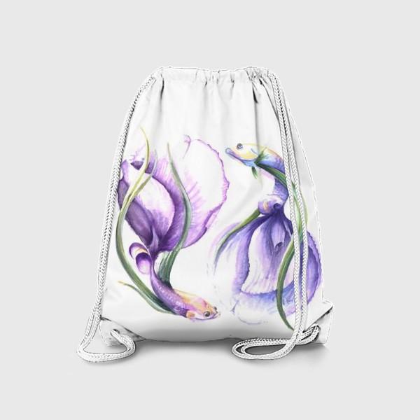 Рюкзак «рыбоцветы»