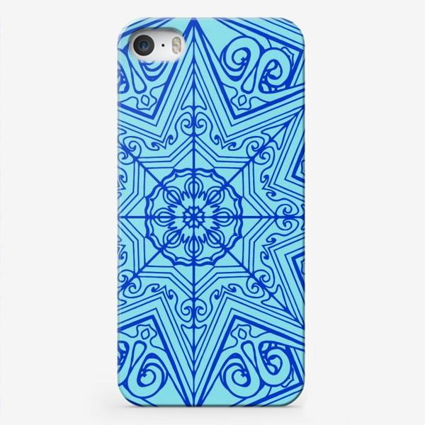Чехол iPhone «Снежинка»