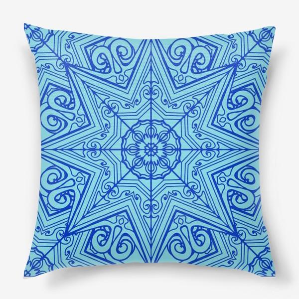 Подушка «Снежинка»
