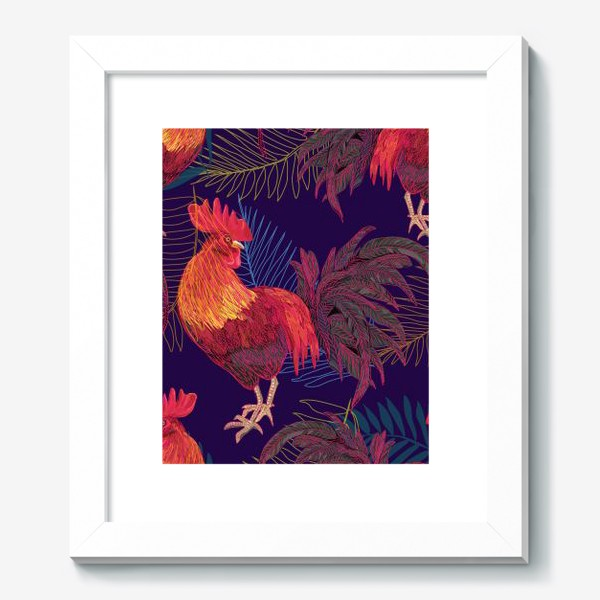 Картина «rooster»