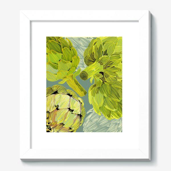 Картина «artichokes»