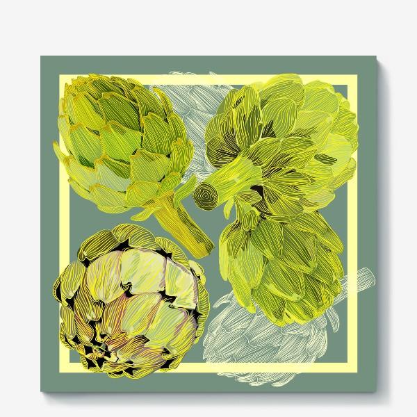 Холст «artichokes»