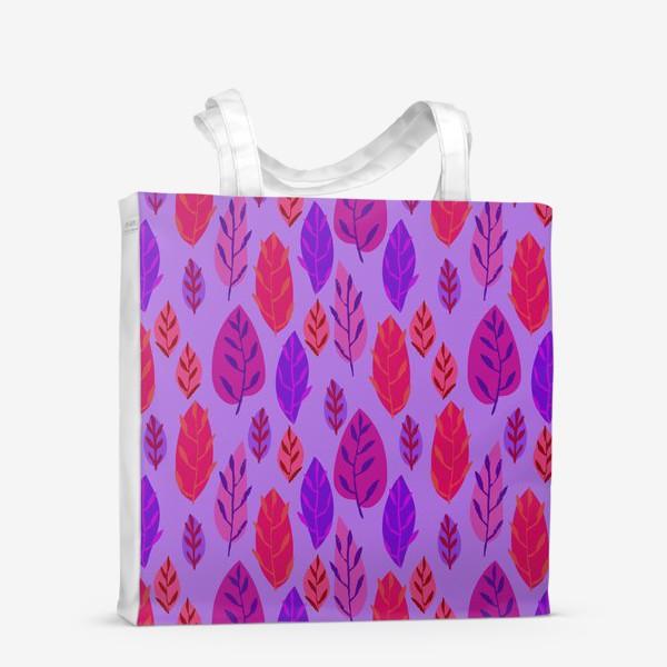 Сумка-шоппер «Листочки»