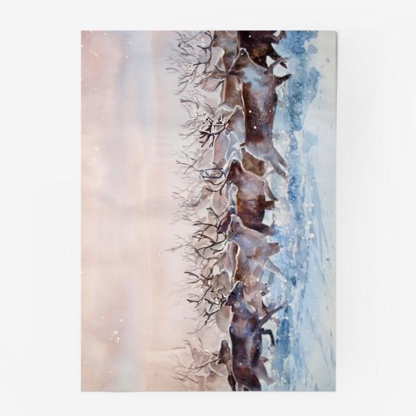 Постер «Северные олени»