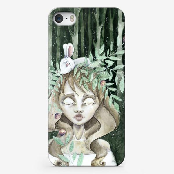 Чехол iPhone «лесная нимфа»