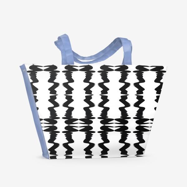 Пляжная сумка «Кривая»