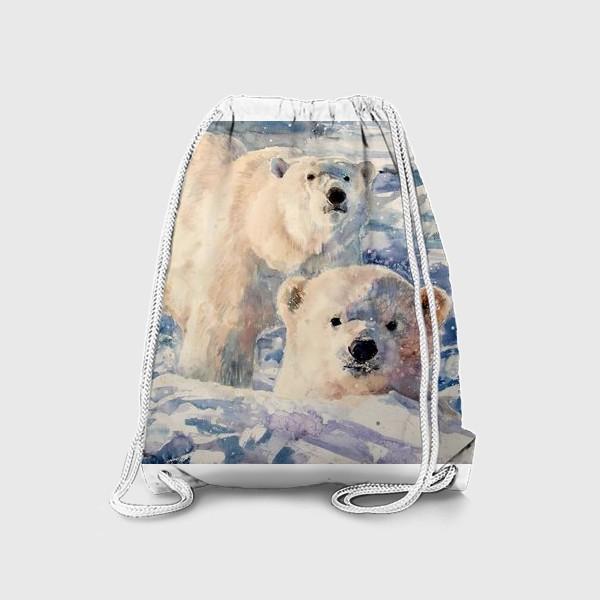 Рюкзак «Белые медведи»
