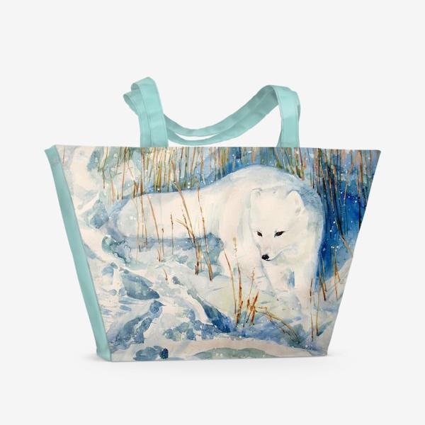 Пляжная сумка «Песец»