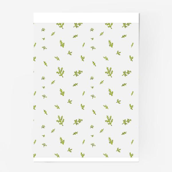 Постер «Маленькие милые веточки»