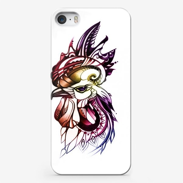 Чехол iPhone «Петух»