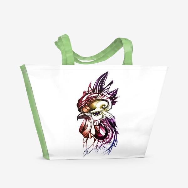 Пляжная сумка «Петух»