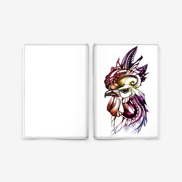 Обложка для паспорта «Петух»