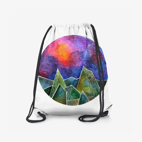 Рюкзак «Space mountains»