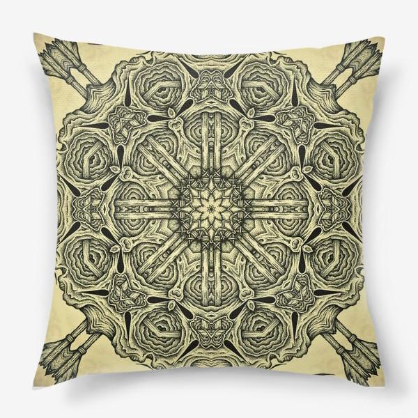 Подушка «Occult mandala»