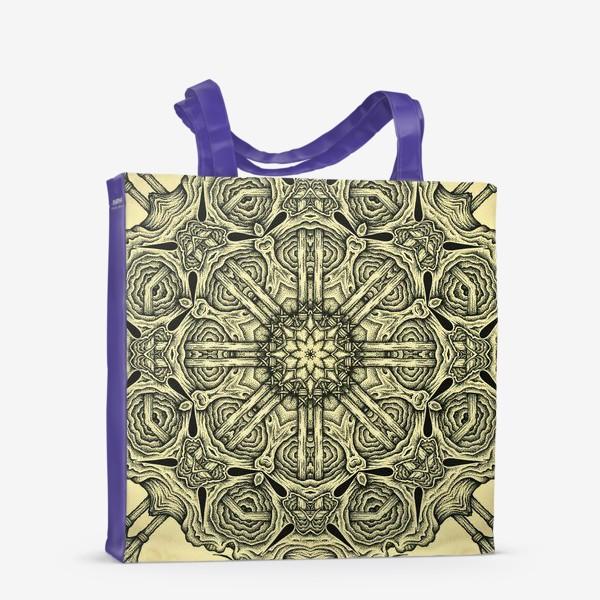 Сумка-шоппер «Occult mandala»