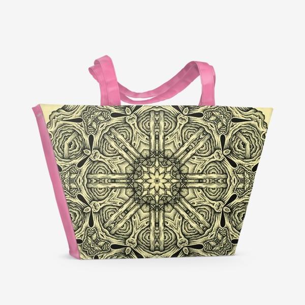 Пляжная сумка «Occult mandala»