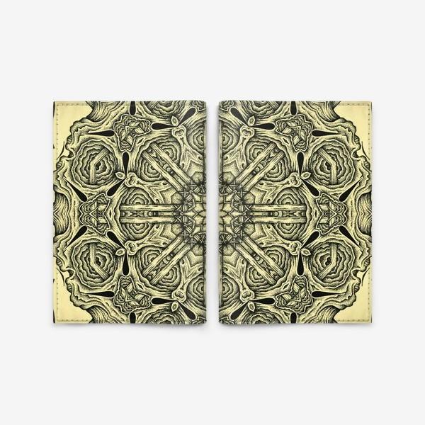 Обложка для паспорта «Occult mandala»