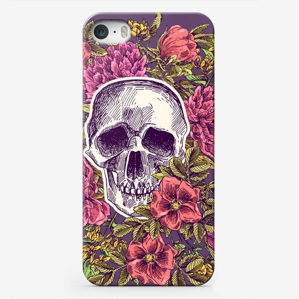 Чехол iPhone «Бохо-череп»