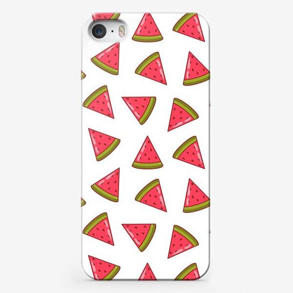 Чехол iPhone «Арбузные дольки»