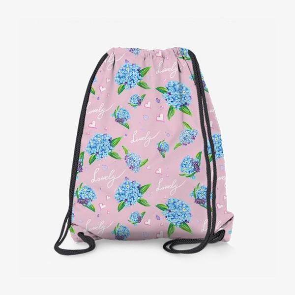 Рюкзак «Нежные незабудки»