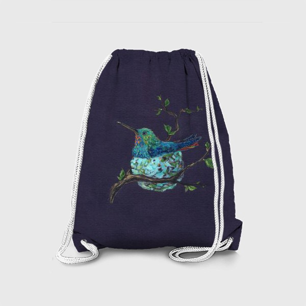 Рюкзак «колибри в гнездышке»