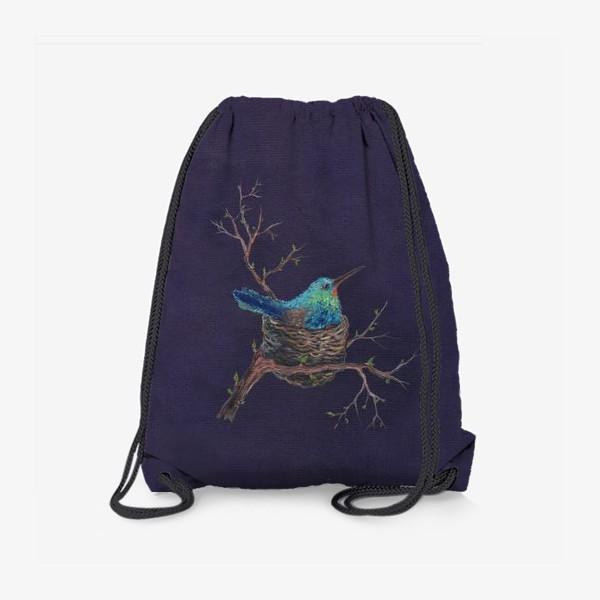 Рюкзак «крошка колибри »