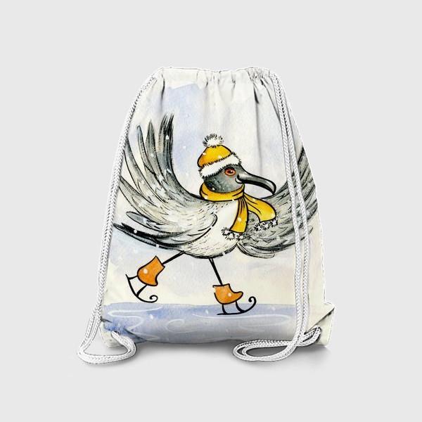 Рюкзак «Чайка на льду»