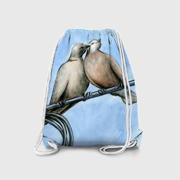 Рюкзак «Голуби»