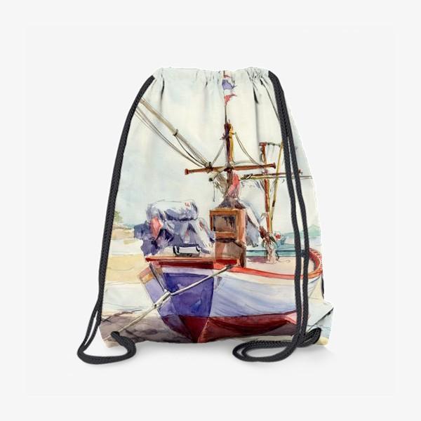 Рюкзак «Рыбацкая лодка»