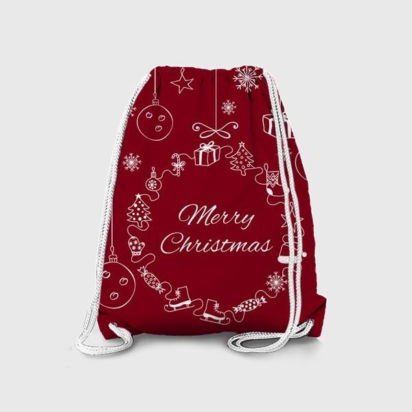 Рюкзак «С Рождеством!»