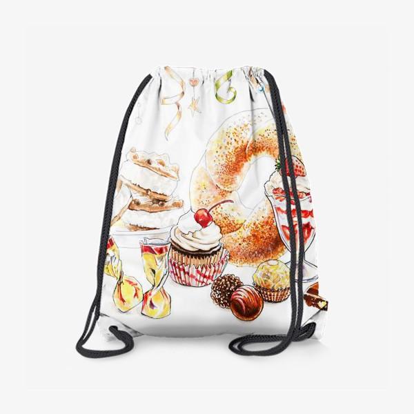 Рюкзак «Сладкая иллюстрация»