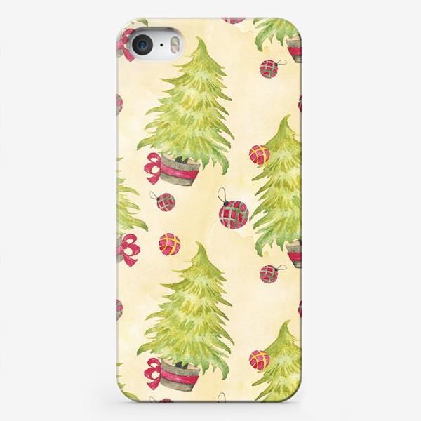 Чехол iPhone «Новогодняя Елочка»