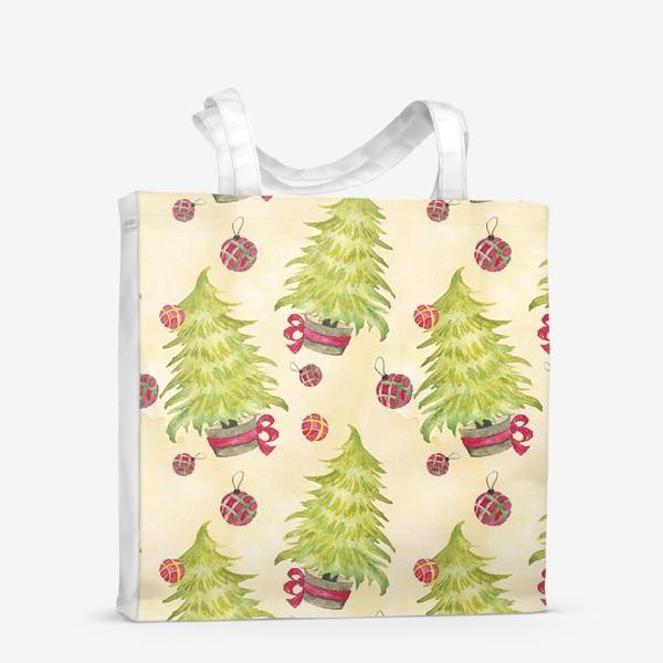 Сумка-шоппер «Новогодняя Елочка»