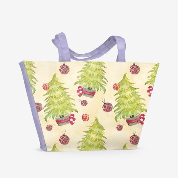 Пляжная сумка «Новогодняя Елочка»