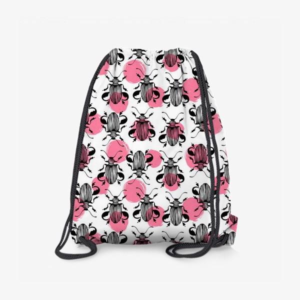 Рюкзак «Экзотические жуки»
