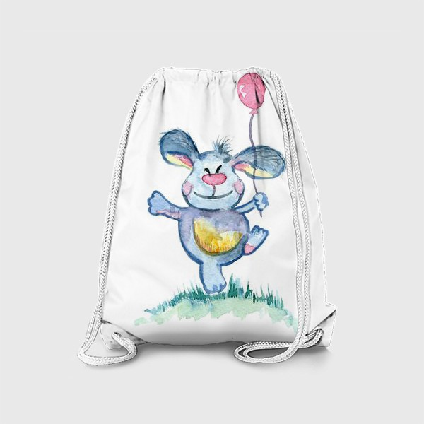 Рюкзак «Заяц с шариком»