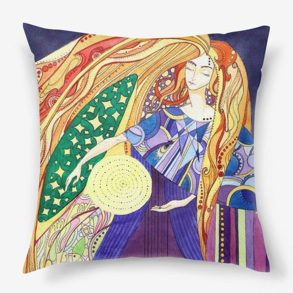 Подушка «космическая дева»