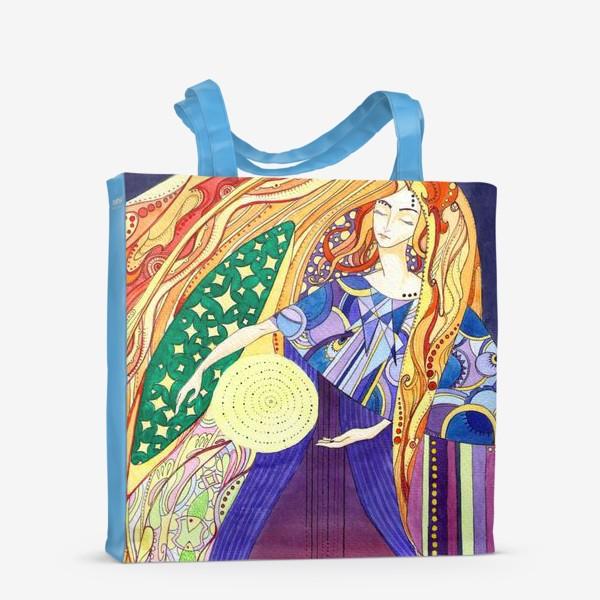 Сумка-шоппер «космическая дева»